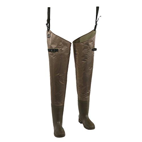Allen Black River Hunting & Fishing Bootfoot Hip Waders, Multi, 11 (11761)
