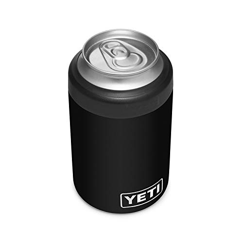 YETI Rambler Colster 2.0, Vacuum Insulated, Stainless Steel, Black