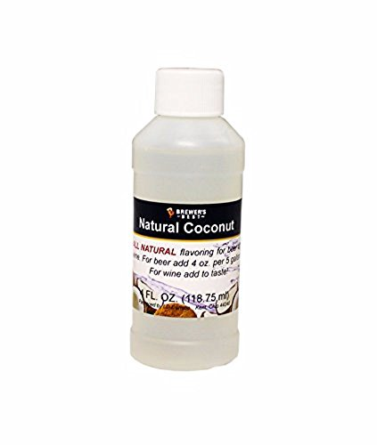 Brewer's Best Natural Beer and Wine Fruit Flavoring (Coconut)