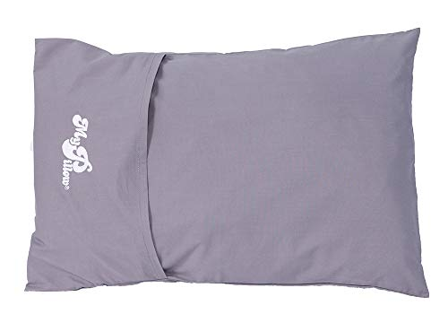 MyPillow Roll & GoAnywhere Pillow (Frosted Gray)