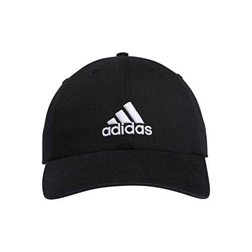 adidas Men's Ultimate Relaxed Cap, Black/White, ONE SIZE