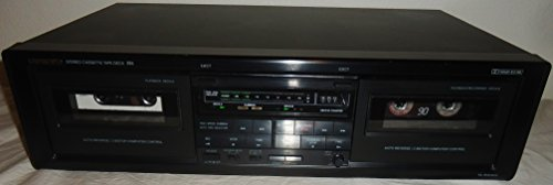 Onkyo TA-RW303 Dual Cassette Stereo Tape Deck with Auto Reverse and AV Cables Music Audio Sound - Very Rare