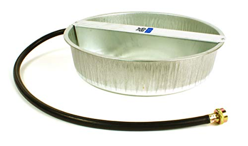 LITTLE GIANT Automatic Pet Waterer - Pet Lodge - Steel Ever Full Pet Bowl, 13 Quart (Item No. PW13)