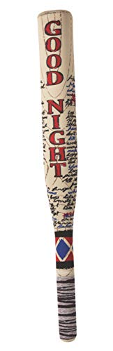 Rubie's womens Suicide Squad Harley Quinn Neoprene Bat Costume Accessory, As Shown, One Size US