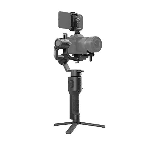 DJI Ronin-SC - Camera Stabilizer, 3-Axis Handheld Gimbal for DSLR and Mirrorless Cameras, Up to 4.4lbs Payload, Sony, Panasonic Lumix, Nikon, Canon, Lightweight Design, Cinematic Filming, Black