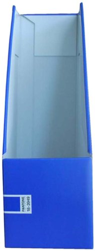 Pantone Vertical File Box, A4 High, Dazzling Blue, Pack of 2 (50240-89252-8)