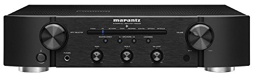 Marantz PM6006 Integrated Amplifier | Pre-Amp or Power Amp Integration | Superior Sound from Hi-Res Audio Files | Gold-Plated Inputs/Outputs | Complete the Series with the NA6006 and CD6006
