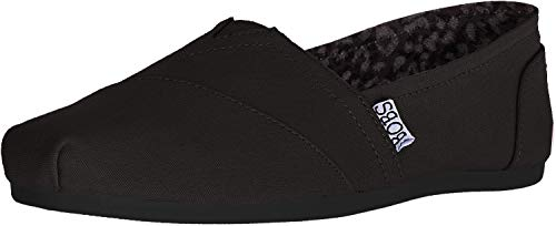 Skechers BOBS from Bobs Plush - Peace and Love Black 8.5 B (M)