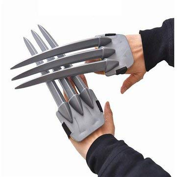 Che-good Halloween Claw Mask & Costumes - Halloween Wolverine Claws Plastic Toys Festival Decoration - Unguis Chela Nipper - 1PCs