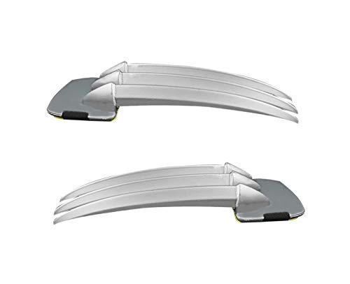 DAYSTART Wolverine Claws for Kids Plastic Wolf Claws Dagger Wolverine Costume for Children Costume Cosplay Props, 2Pcs Silver