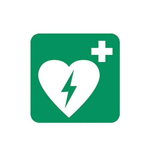 MAGNET Defibrillator Cardiac Magnetic Vinyl Car Fridge Sticks to any Metal Surface 5'