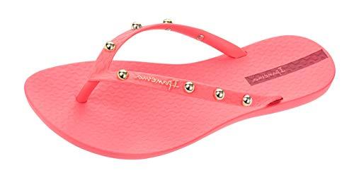 Ipanema Wave Hits Womens Flip Flops/Sandals -Coral-7