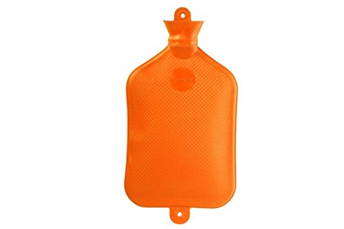 Sanger XXX-Large 3.0 Liter Rubber Hot Water Bottle in RED- Made in Germany