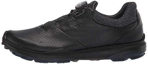 ECCO Men's Biom Hybrid 3 Boa Gore-Tex Golf Shoe, Black Yak Leather, 45 M EU (11-11.5 US)