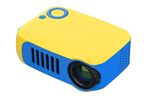 Mini Projector, Portable Full Color LED LCD Video Projector for Children Present, Video TV Movie, Party Game, Outdoor Entertainment with HDMI USB AV Interfaces