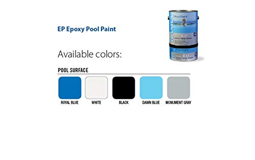 RAMUC EP Epoxy High Gloss Epoxy Pool Paint (Monument Gray)