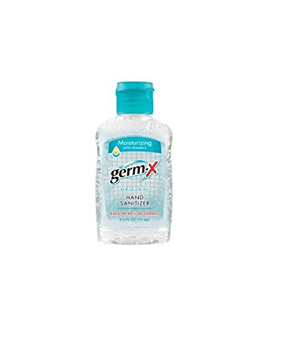 Germ-X 2.5 fl oz Original Hand Sanitizer with Vitamin E - 6-Pack
