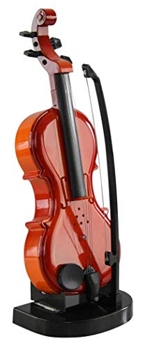 HOME-X Electronic Violin with Bow and Stand for Kids, Musical Gifts for Boys and Girls, Youth Learning Toys