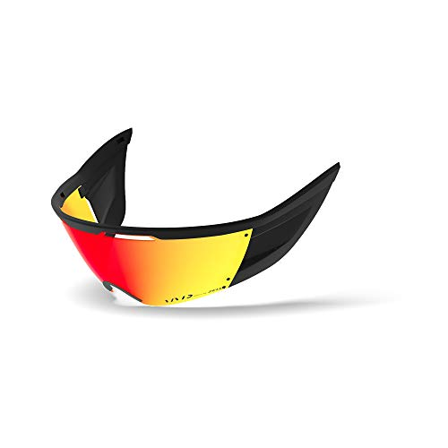 Giro Replacement Shield for Vanquish MIPS Road Bike Helmet (Vivid Road Ember, One Size)