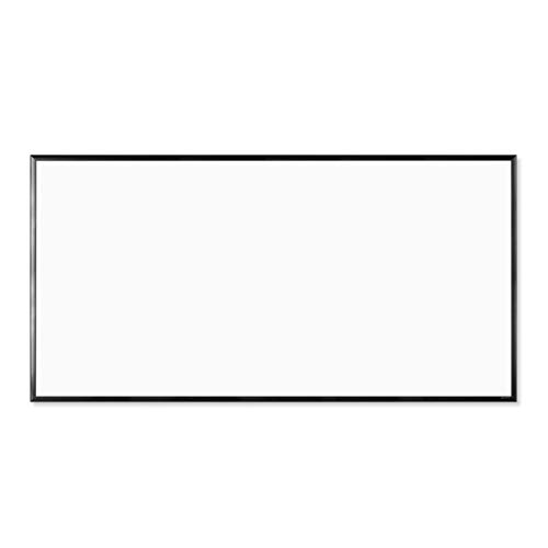 U Brands Magnetic Dry Erase Board, 47 x 96 Inches, Black Aluminum Frame (2898U00-01)
