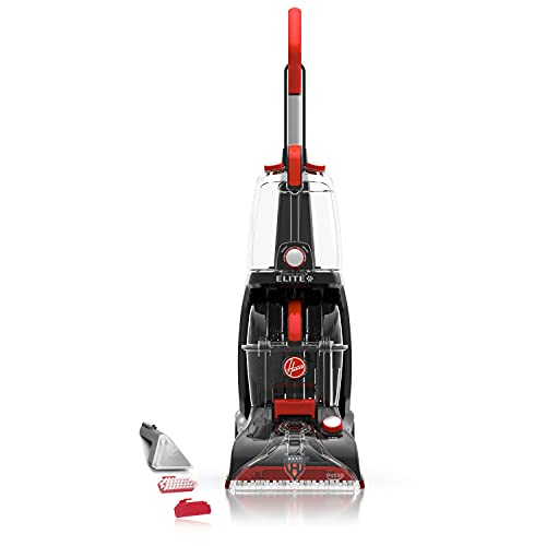 Hoover Power Scrub Elite Pet Upright Carpet Cleaner Machine and Shampooer, Lightweight Machine, FH50251PC, Colors May Vary