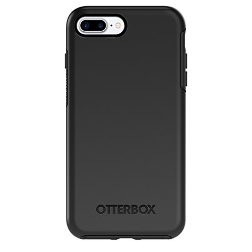 OtterBox SYMMETRY SERIES Case for iPhone 8 PLUS & iPhone 7 PLUS (ONLY) - Frustration Free Packaging - BLACK
