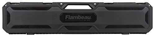 Flambeau Outdoors 6448SC 48' Express Gun Case, Portable Scoped Rifle or Shotgun Storage Accessory , Black