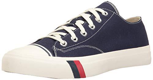 PRO-Keds Men's Royal Lo Classic Canvas Sneaker, Navy, 10.5 Medium US