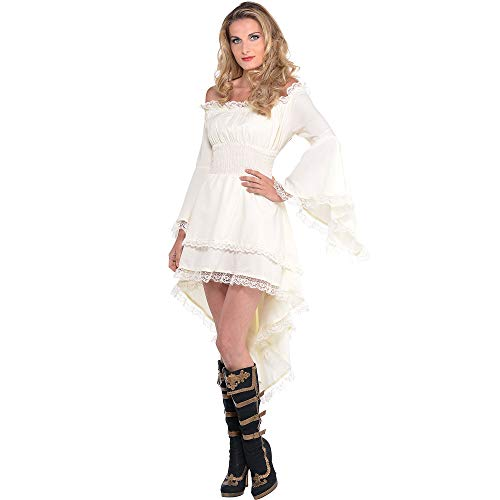 AMSCAN Pirate Dress Halloween Costume for Women, One Size