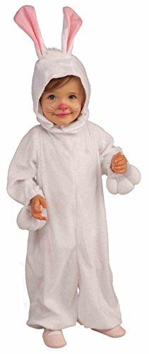 Forum Novelties Kids Fleece Bunny Rabbit Costume, Toddler, One Color