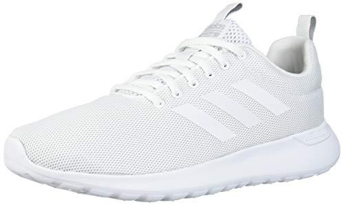 adidas womens Lite Racer Cln Running Shoe, Ftwr White/ Ftwr White/ Grey Two Fabric, 7 US