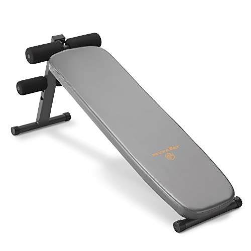 Marcy Apex Utility Bench Slant Board Sit Up Bench Crunch Board Ab Bench for Toning and Strength Training JD-1.2