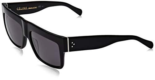 Celine 41756 807 Black ZZ Top Square Sunglasses Polarised Lens Category 3 Size