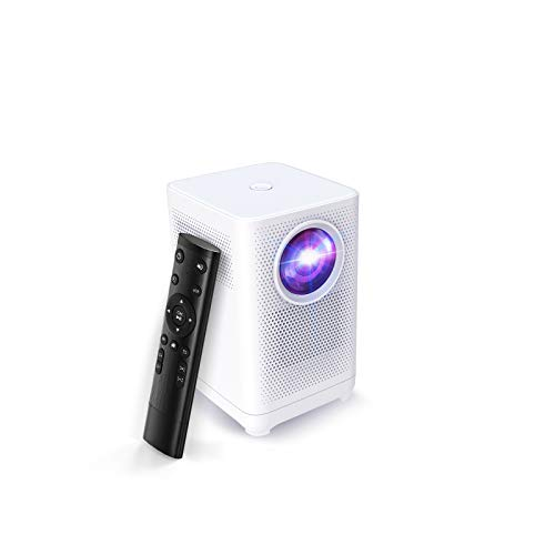 Projector Native 1080P Full HD Portable, WITSEER LCD Home Movie Projector, Compatible with PC, TV Stick, Chormecast, Laptop, Switch, PS4,Games, USB, HDMI, Use for Indoor, L1B