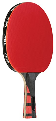 STIGA Evolution Performance-Level Table Tennis Racket Made with Approved Rubber for Tournament Play