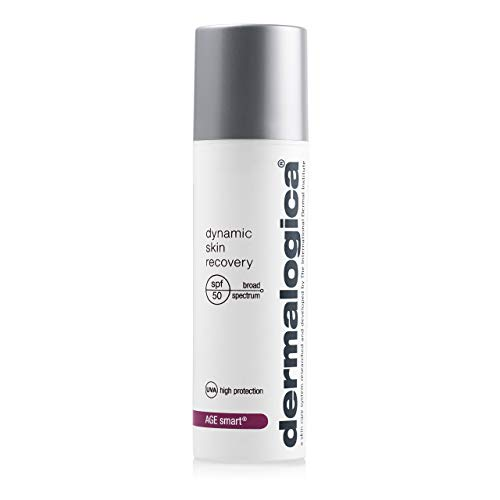Dermalogica Dynamic Skin Recovery SPF50 (1.7 Fl Oz) Anti-Aging Face Sunscreen Moisturizer, Medium-Weight Non-Greasy Broad Spectrum to Protect Against UVA and UVB Rays