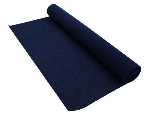 Absolute C10BL 10-Feet Long/4-Feet Wide Carpet for Speaker Sub Box, RV Truck Car/Trunk Laner (Blue)