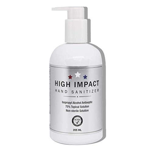 High Impact Gel Hand Sanitizer with 75% Isopropyl Alcohol (12oz) - Unscented