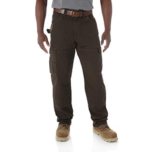 Wrangler Riggs Workwear Men's Ranger Pant,Dark Brown,38x30