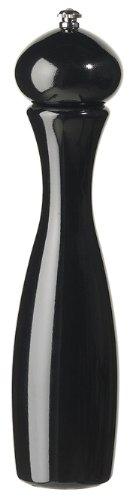 Fletchers' Mill Marsala Collection Pepper Mill, Black - 12 Inch, Adjustable Coarseness Fine to Coarse, MADE IN U.S.A.