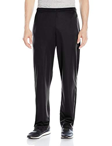 Hanes Men's Sport X-Temp Performance Training Pant with Pockets, Black, L