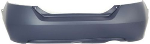 Crash Parts Plus Primed Rear Bumper Cover Replacement for 2006-2011 Honda Civic Coupe
