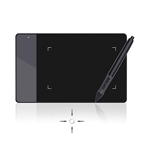 Huion 420 OSU Tablet Graphics Drawing Pen Tablet with Digital Stylus - 4 x 2.23 Inches