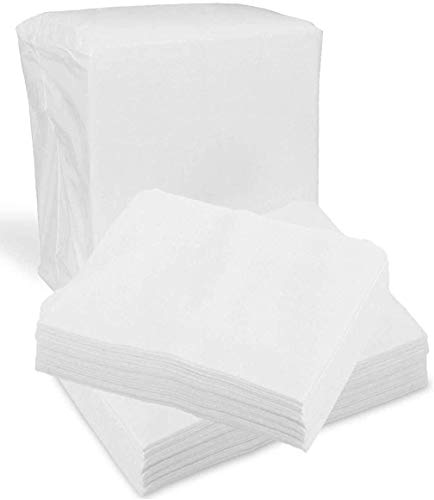 Disposable Dry Wipes for Baby and Adults, 60 Count (2 Pack) - Ultra Soft Cotton Tissue Washcloths - 7' x 13' Travel Size - Non-Moistened Cleansing Cloths for Incontinence, Body and Face - ProHeal