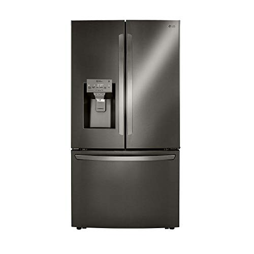 23.5 cu. ft. Smart French Door Refrigerator, Dual Ice with Craft Ice in PrintProof Black Stainless Steel, Counter Depth