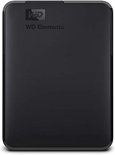 WD 2TB WD Elements Portable External Hard Drive, USB 3.0 - WDBU6Y0020BBK-WESN
