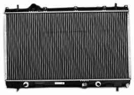 TYC 2362 Compatible with DODGE Neon 1-Row Plastic Aluminum Replacement Radiator