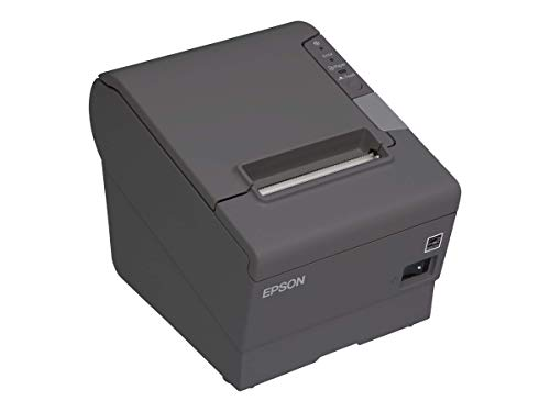 EPSON TM-T88V-330 Thermal Receipt Printer (USB and Ethernet) Power Supply Included (Renewed)