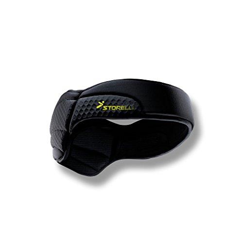 Storelli ExoShield Head Guard | Sports Headband | Protective Soccer Headgear | Black | Size 6