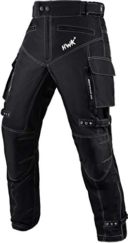 Motorcycle Pants For Men Dualsport Motocross Motorbike Pant Riding Overpants Enduro Adventure Touring Waterproof CE Armored All-Weather (Waist30''-32'' Inseam32'')